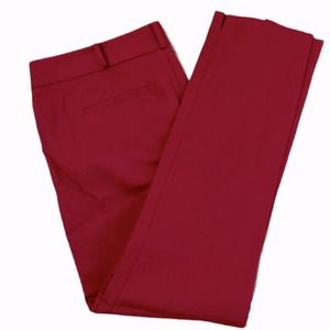 Raoul Red Dress Pant